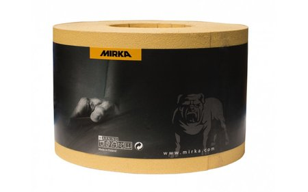 Mirka Gold Slippappersrulle 115mm x 50m