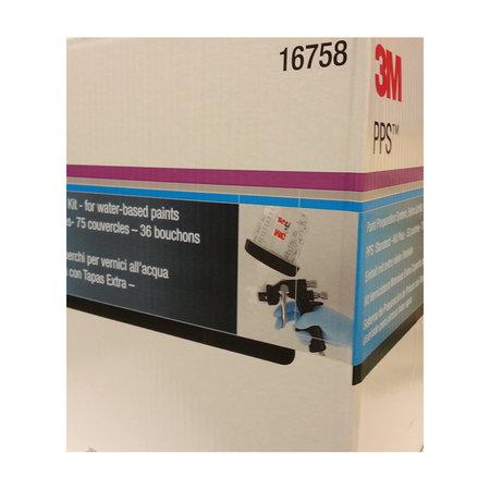 3M PPS Innerbehållare 125µ 600 ml med extra lock