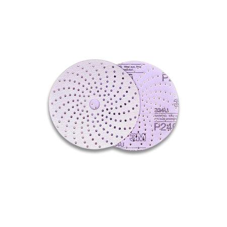 3M Sliprondell Hookit Purple+ 334U 177-hål 150mm