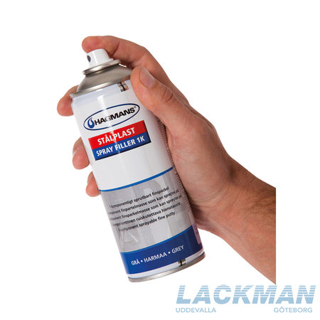 Hagmans Stålplast Spray Fill 1K 400 ml