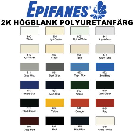 Epifanes 2K Polyuretanfärg - Sträcklack