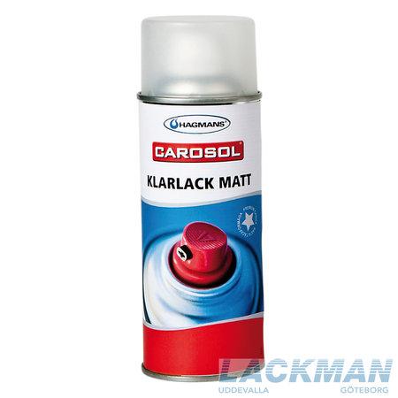 Hagmans Carosol 1K Klarlack matt 400 ml