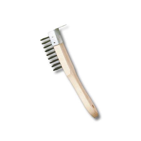 Embo Stålborste med träskaft (1-6 rader)